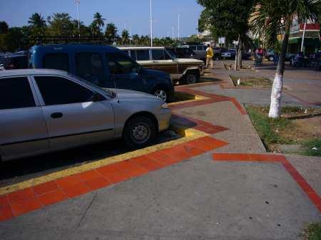 autos aparcados