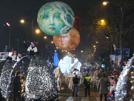 globos con rostros dibujaos