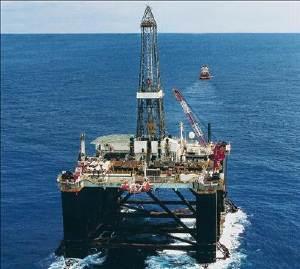 plataforma de perforacion marina