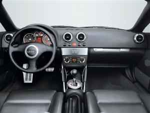 Audi TT Coupe. Interior