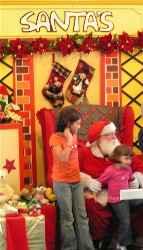 Santa Claus y los niños