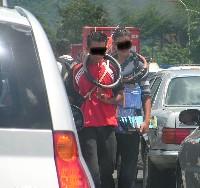 Menores vendiendo en las calles 1