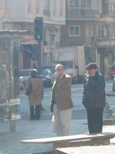 Dos ancianos. Foto por Keyla Díaz