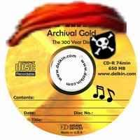 CD con grabación pirata de música