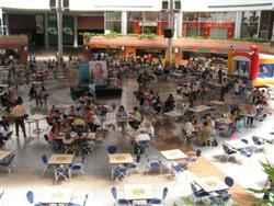 Area de comidas del Sambil