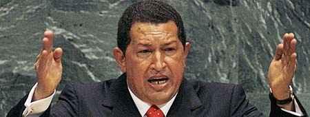 Chávez en la ONU
