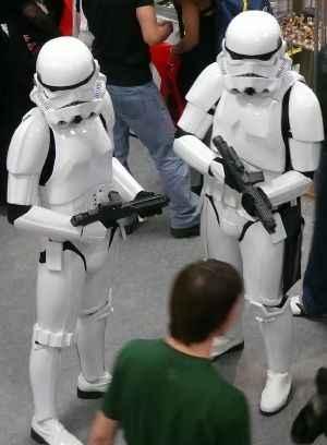 soldados del Imperio en Expocomic