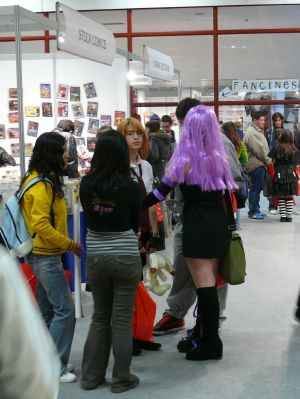 goticos en expocomic
