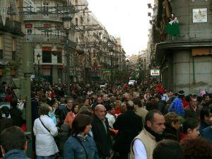 Calle Mayor, Puerta del Sol, Madrid