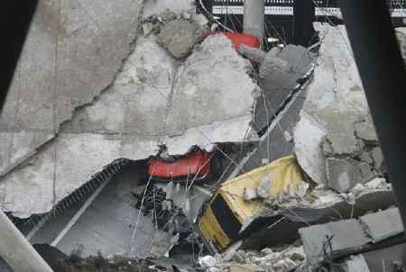 Destrucción en Barajas