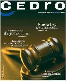 Portada revista Cedro No. 55