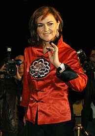 Ministra de Cultura, Carmen CAlvo