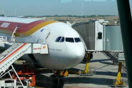 avion de Iberia