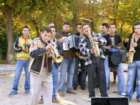 banda de musicos callejeros