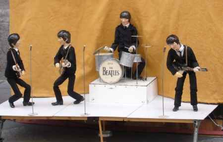 Titeres de los Beatles