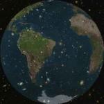 Chatarra espacial flota sobre nuestro planeta