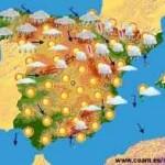 Lluvia en Galicia, aunque brille el sol