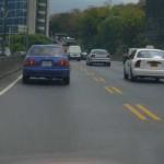 Caracas se rinde ante los motorizados