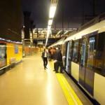 Corriendo en el Metro