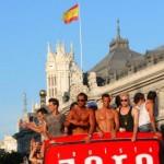Madrid llena por el orgullo gay 2009