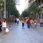 Fuencarral, una calle peatonal; pero no accesible
