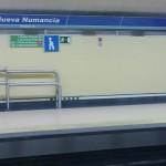Invidente arrollada en el metro de Madrid