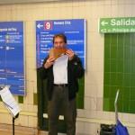 Excelentes músicos que te encuentras en el Metro