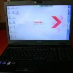 Mi nuevo Toshiba Tecra