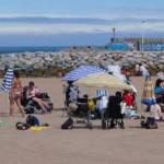Playas con accesibilidad parcial