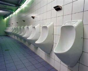 urinario de hombres