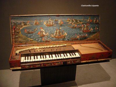 clavicordio Lépante siglo XVI