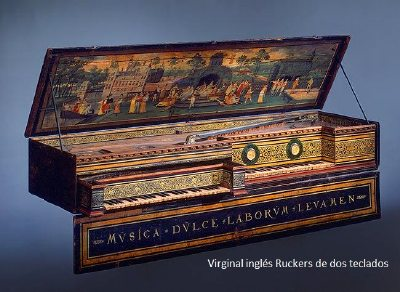 piano Virginal Ruckers