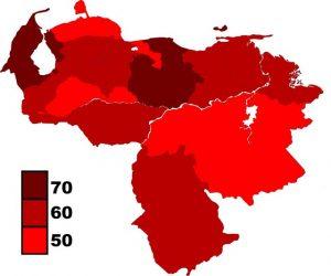 Mapa electoral de Venezuela
